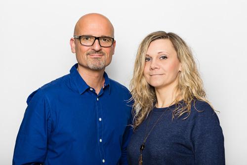 Alicja & Jochen Nees, Inhaber von Makesigns Mediendesign in Linkenheim-Hochstetten.