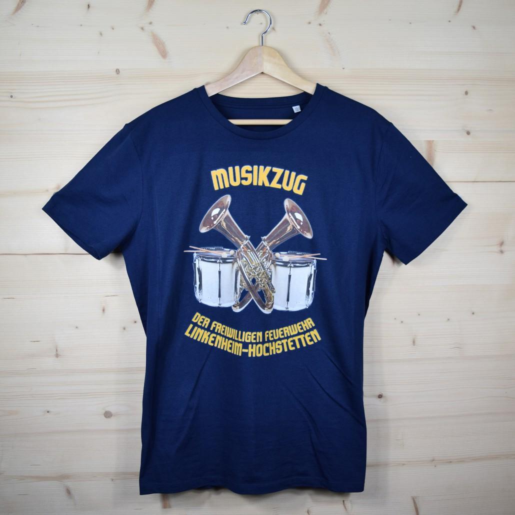 T-Shirts für den Musikzug der freiwilligen Feuerwehr Linkenheim-Hochstetten