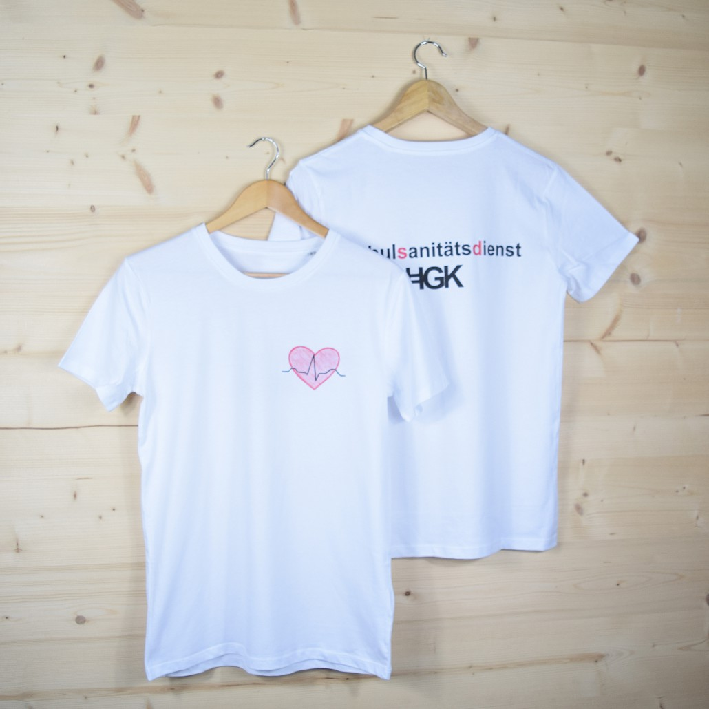 Schulsanitätsdienst T-Shirts ud Polos für das Humboldt Gymnasium Karlsruhe